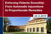 "Towards entry ""Conference ""Enforcing Patents Smoothly"""""